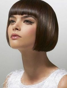 Cleopatra Haircut - Hairstyles for Short Hair with Bangs