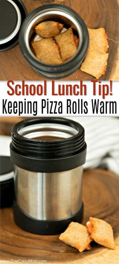 How to Send Pizza rolls in School lunches – It is so easy to do and keeps them warm! This is one of our favorite kid school lunch ideas. It's so simple! How to Send Pizza rolls in School lunches – It is so easy to do and keeps them warm! Creative School Lunches, Easy Lunches For Kids, Healthy School Lunches, Toddler Lunches, School Snacks, Kids Meals, Toddler Food, Cold Lunch Ideas For Kids, Non Sandwich Lunches