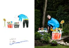 Kids Draw Pics of Granny; Artist Turns Pics Into Wacko Costumes | Wired Design | Wired.com