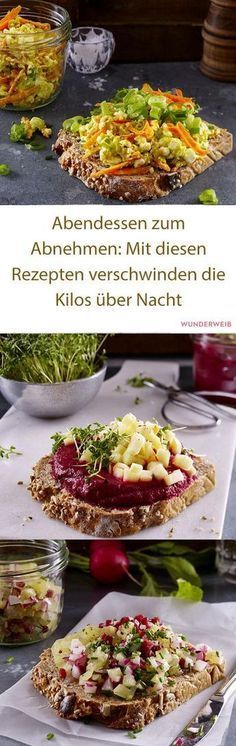 Dinner for losing weight: With these recipes, the kilos disappear overnight - rezepte - Gesundes Essen Clean Eating, Healthy Eating, Diet Recipes, Healthy Recipes, Good Food, Yummy Food, Nutrition, Eat Smart, Easy Healthy Dinners