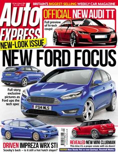Auto Express - February 26 2014 : Hi-tech new Focus unveiled, Audi's sharper TT set for Geneva debut, VW plugs in hot new hybrid Golf GTE, Toy Story and more...