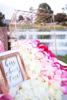 """Pinners are looking for fresh ways to create an exciting exit. """"Toss bars"""" are trending, up YoY. This DIY petal toss bar is a top Pin. Wedding Send Off, Wedding Exits, Trendy Wedding, Perfect Wedding, Diy Wedding, Wedding Ceremony, Dream Wedding, Wedding Ideas, Forest Wedding"""