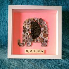Button craft elephant 🐘