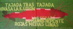 Watermelon Seeds Acrylic on canvas 147 x 61 cm