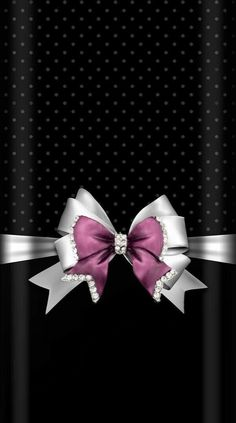 Bow Wallpaper Iphone, Bling Wallpaper, Phone Wallpaper Quotes, Luxury Wallpaper, Heart Wallpaper, Purple Wallpaper, Cellphone Wallpaper, Wallpaper Backgrounds, Iphone Backgrounds