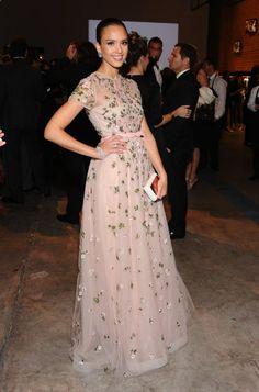 Jessica Alba in Valentino