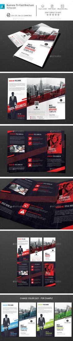 Corporate Tri-Fold Brochure Template PSD. Download here: http://graphicriver.net/item/corporate-trifold-brochure-01/14728879?ref=ksioks