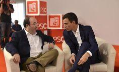 """El PSOE aprobará hoy reconocer """"las aspiraciones nacionales de Cataluña"""" en la Constitución"""
