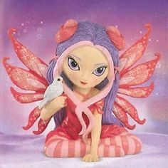 Peace Jasmine Becket Griffith Fairy Magic of Hope Bradford Figurine