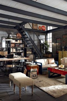 Superior 10 Beautiful Urban Industrial Decor Designs To Nail Your Brick U0026 Steel  Apartment