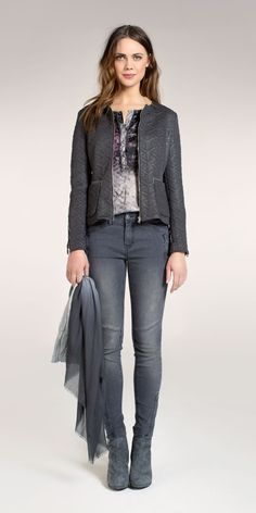 Future Reflection - Expresso, Fashion with a soul Leon Max, Duster Coat, Hoodies, My Style, Grey, Lace, Casual, Sweaters, Jackets