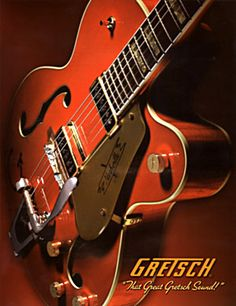 Gretsch - the guitar Honor makes Jared play in Instrumadness