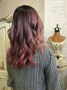 Rose gold ombré More