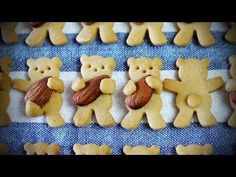 Incredibly Cute Teddy Bear Biscuits | DIY Tag