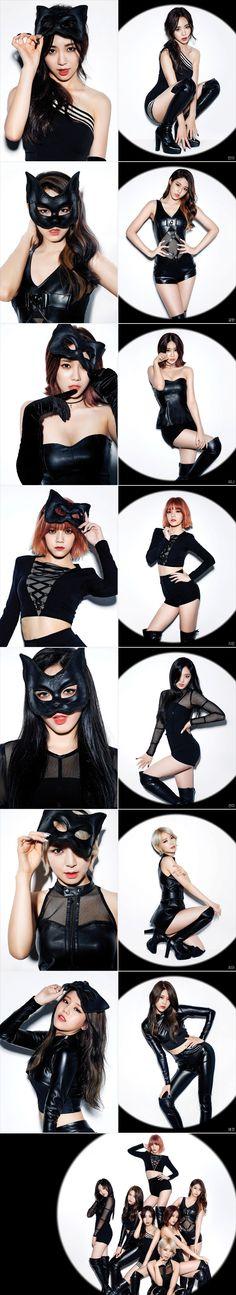 AOA - Like A Cat teaser photos