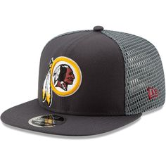 a6f5481692d Men s Washington Redskins New Era Graphite Mesh Fresh 9FIFTY Adjustable Snapback  Hat