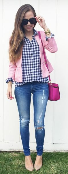 Blues And Pinks Styling