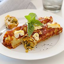 Chicken, spinach and pumpkin cannelloni (to try)