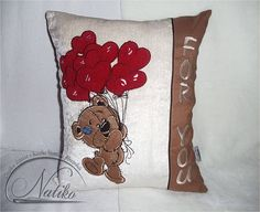 For you pillow, kids room pillow, cushion, Embroidered pillow, Decorative pillow, modern kids pillow, gift, Baby pillow, nursery pillow