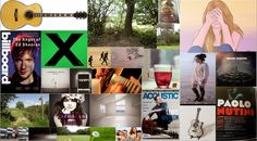 RESEARCH: Using the internet and original images, I created a mood-board on Photoshop compiling early ideas for my music video.