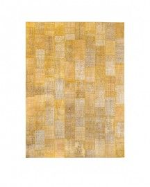 Tapis Patchwork Jaune 650 x 480cm Contemporary Rugs, Unique Rugs, Vintage Colors, Decoration, Handmade Rugs, Beautiful Homes, Patchwork Rugs, Yellow, Decor