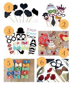 Going to Be Making Quite a Few Of These!! Etsy Roundup – Fun Photobooth Props