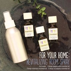 Revitalizing room spray recipe