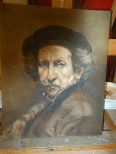 Rembrandt van Rijn – Self portrait – 1659 Rembrandt, Self, Van, Paintings, Portrait, Paint, Painting Art, Portrait Illustration, Painting