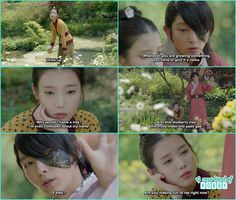 hae soo in funny way water the plant , 4th prince told her make plant friends…