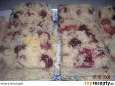 Litý kynutý koláč - hrníčkový, rychlý Russian Recipes, Mashed Potatoes, Oatmeal, Dairy, Sweets, Cheese, Baking, Breakfast, Cake