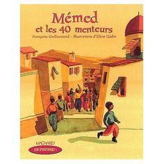 lecture suivie Mémed et les 40 menteurs CE1