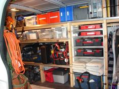 Work Van Shelves - Vehicles -