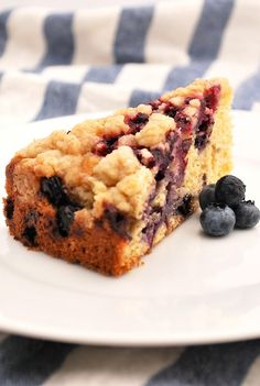 Blueberry Lime Buckle: A Simply Delicious Summer Cake | Family Kitchen