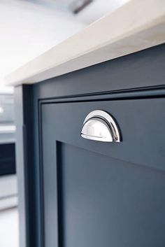 cabinetry detail in navy | Blue Tea Kitchen Inspiration | Sydney