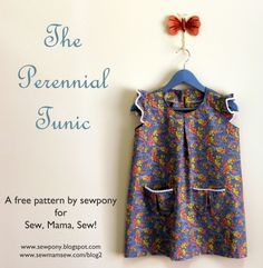 free pattern & tutorial: The Perennial Tunic