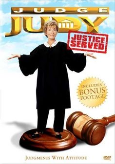 Created by Sandi Spreckman, Kaye Switzer.  With Judy Sheindlin, Petri Hawkins-Byrd, Jerry Bishop, Kevin Marshall Brady. Judge Judy Sheindlin, a former judge from New York, tackles real-life small claims cases with her no nonsense attitude in which damages of no more than $5,000 can be awarded. Also by her side is bailiff Petri Hawkins-Byrd who keeps order in the court. Then after a case is closed, the defendant and plaintiff briefly confront each other outside the courtroom.