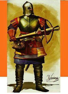 Cretan croossbow siege of Constantinoupole 1453
