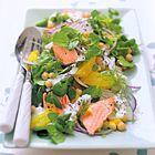 Een heerlijk recept: Zalmsalade met venkel en sinaasappel