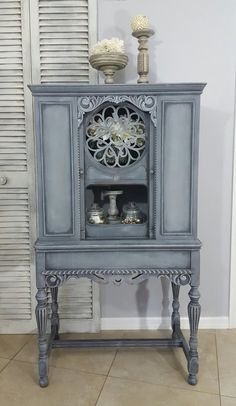 Re-Purposed Antique Radio Cabinet Display Cabinet China Cabinet Hand Painted and Distresse SOLD! Re-Purposed Antique Radio Cabinet Display Cabinet China Cabinet Hand Painted and Distresse Repurposed Furniture, Shabby Chic Furniture, Shabby Chic Decor, Rustic Furniture, Vintage Furniture, Modern Furniture, Outdoor Furniture, Repurposed China Cabinet, Luxury Furniture