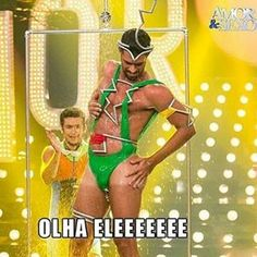 Olha eleeeeeeeee Kkkkkkkkkkkkkkk Muito bom!!!! #amoresexo  #boratstyle  #redeglobo  #fernandalima
