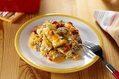 Bacon, eggs and hash browns topped with melty VELVEETA—it's everything you want for brunch in one delicious casserole.