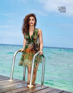 Alia Bhatt in photoshoot for Vogue magazine, March 2016 issue. #Bollywood #Fashion #Style #Beauty #Sexy