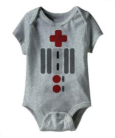 Take a look at this Gray Heather 'NOT-ES' Bodysuit - Infant by American Classics on #zulily today!