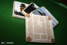 Tile coasters using your photos these would be nice Christmas, birthday oranniversary gifts.  One photo each year  or couple of years of age or anniversary photos would be nice.