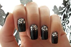 Six prom-perfect nail art ideas! Whats your mani plan for the big night?