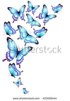 Filigree Butterfly: afbeeldingen, stockfoto's en vectoren Butterfly Mosaic, Butterfly Drawing, Butterfly Wallpaper, Butterfly Cards, Butterfly Design, Blue Butterfly, Orchid Drawing, Butterfly Coloring Page, Poster Background Design