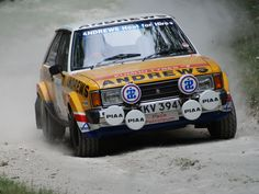 Lendas do WRC: Talbot Lotus Sunbeam, o francês azarão de 1981 Audi Quattro, Sport Cars, Race Cars, Motor Sport, Carros Suv, Sport En France, Rally Raid, Because Race Car, Ford