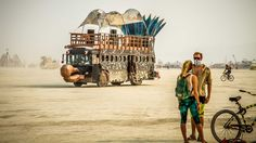 Let's travel to the Burning Man Festival in Nevada, USA with Travis White