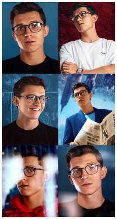 #tom #holland #cute #glasses #tomhollandcuteglasses Marvel Actors, Marvel Movies, Spider Men, Tom Holand, Baby Toms, Tom Holland Peter Parker, Dc Memes, Tommy Boy, Marvel Funny