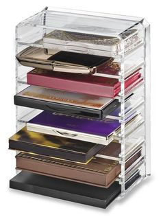 Acrylic Palette Organizer For Smaller Sized Palettes
